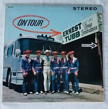 ERNEST TUBB ON TOUR Stereo DL 74321 Orig inner sleeve
