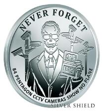 "2017 Silver Shield PENTAGON CCTV - 1 oz Rev Proof - #11 in ""Never Forget"" Series"