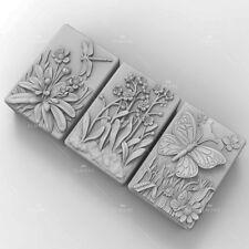 Molde de Silicona Craft Flor de jabón de fabricación de jabón Molde Vela Resina Hágalo usted mismo molde hecho a mano