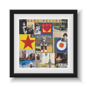 """Stanley Road - Paul Weller 12"""" Album Cover - Framed 16"""" x 16"""""""