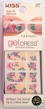 Kiss Nail Gel Dress Gel Polish Solution Gel Strips # 60641 Sugar & Spice VHTF