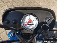 Neuer Hercules Mofa Prima M 2 3 4 5 Optima Moped Tacho weiß Tachometer 80km/h