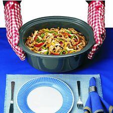 Morphy Richards 48730 digitaler Slow Cooker CROCKPOTT Vollautomat 6 5l