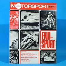 Illustrierter Motorsport IMS 11/1978 Frohburg Leyland TR 7 Motocross Motoball T