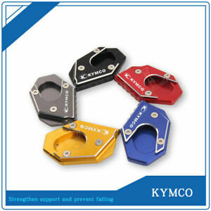 For KYMCO 250 Xciting 300 / 400 CT250 / 300 Side Kickstand Stand Extension Plate