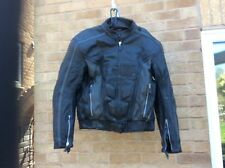 SPYKE Tec  Leather Jacket Size 50 good condition see pictures
