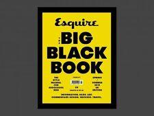 Esquire Big Black Book Magazine UK Issue 5 S/S 2015 NEW