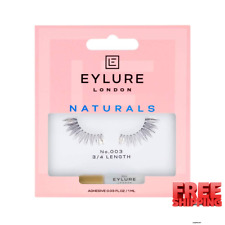 New listing Eylure Naturals False Lashes, Style No. 003, Reusable, Adhesive Included, 1 Pair