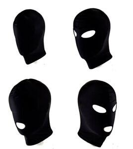 Fetish Open Mouth Hood Gimp Face Mask Head Bondage Adult Cosplay Gimp Mask BDSM