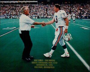 Dan Marino Miami Dolphins NFL Football Unsigned Glossy 8x10 Photo E