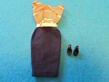 "Vintage-1959-1962-Barbie- ""Cruise Stripes""-#918-A Complete Set"