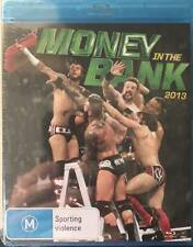 WWE Money In The Bank 2013 New BLURAY DVD Wrestling