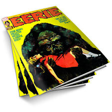 EERIE HORROR COMIC - Complete Collection on DVD Warren Sci Fi Horror Magazine