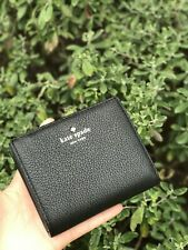 Kate Spade Larchmont Avenue Small Shawn Black Card Case Coin Wallet WLRU5243