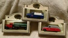 Set of 3 Chevron Die-cast Commemorative Models by Lledo, NIB