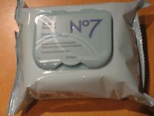 No7 Radiant Results Revitalising Cleansing Wipes 30s BOOTS