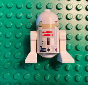 Lego Star Wars Minifigure - R5-D4 - PLAIN DOME - Astromech Droid - SW0142
