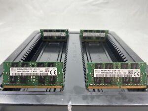 LOT 4 HYNIX HMA41GS6AFR8N 8GB 2Rx8 DDR4 PC4-2133P 17000 NONECC SODIMM MEMORY RAM