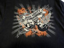 Josh Abbott Band Logo Texas Country Band Men's Black T-Shirt Size XL
