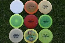 USED 9 disc golf lot Innova X outs. All are old. All have Pat #'s 11x Champion
