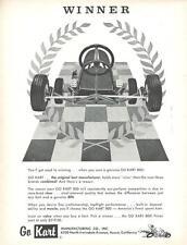 1961 Go Kart Ad/ Azusa Ca