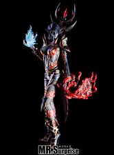 Dark elf wizard lineage 2 girl rare 1/6 unpainted statue figure model resin kit