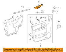 Pontiac GM OEM 05-06 Montana Front Door-Switch Panel Left 15243767