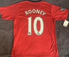 2009-10 Wayne Rooney #10 Manchester United Home Premier League Champions Kit