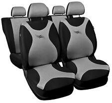 Car seat covers fit VW Volkswagen Passat  full set  - black/silver Full set