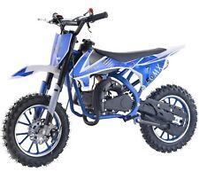 Epicmoto 50MX 49cc Kids Petrol Mini Dirt Bike - Green/Blue/Orange/Red
