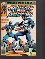 Captain American #241 Punisher