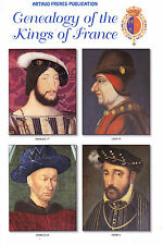 Genealogy of the Kings of France - Re di Francia (in inglese)