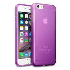 PARACHOQUES de gel de goma Púrpura Terrapin Delgado Estuche Cubierta para Apple iPhone 6/6S
