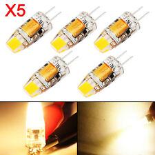 5X 360° G4 COB LED Birne Lampe Leuchtmittel Glühbirne Stiftsockel Licht 3W