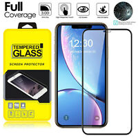 2 Pcs For iPhone 11 Pro Max Full Coverage Tempered Glass Screen Protector Cover