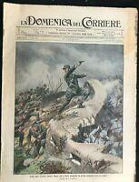 DOMENICA DEL CORRIERE - Italian Newspaper with WWI / WW1 Illustrations  Oct 1915