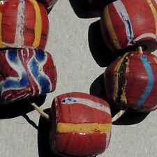 7 old antique venetian fancy beads african trade #1522