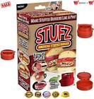 Stufz Stuffed Burger Press Hamburger Maker As Seen On TV Products Easy Use Cook