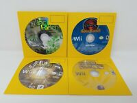 Nintendo Wii - Lot Of 4 Video Games Disc Only Chicken Shoot, Chaotic Shadow Warr