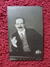 More details for alexander roda roda  -  german actor  - autographed photo postcard