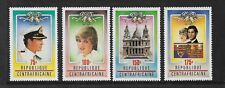 1981 Royal Wedding Set of 4 Stamps Complete MUH/MNH as Issued