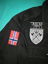 Verdadero ejército de metal negro noruego Taake Camisa bosque de los Cárpatos Darkthrone Mayhem