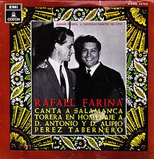 RAFAEL FARINA- CASTA Y BRAVURA + LOCURA DE CONVENIENCIA + TORERO DE SALAMANCA EP