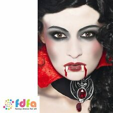 SMIFFYS FX VAMPIRE FACE PAINTS + DRACULA FANGS - halloween fancy dress make up