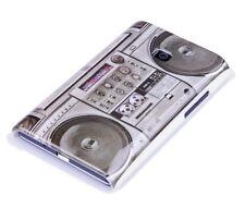Custodia Protettiva F Lg Optimus l3 e400 Case Cover Borsa Ghetto Blaster Radio Tape