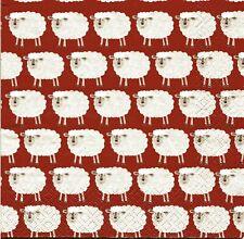 2 pcs Single Paper Napkins For Decoupage Craft  Lambs