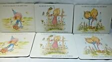 Vintage Clover Leaf Placemats Betsy Clark Hallmark Made in UK Set of 6