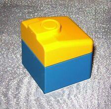 Lego Duplo Eisenbahn Stein  E-Lok Ersatzteil blau  Diesel Ersatzstein Cabin Nose