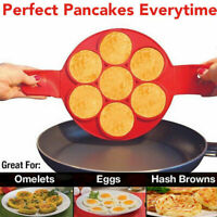 Breakfast Maker Flip Cooker Silicone Non Stick Fantastic Egg Pancake Ring Omelet
