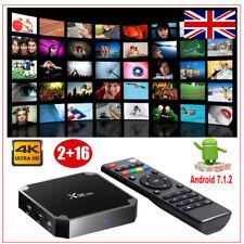 Smart X96 MINI 2GB+16GB Quad Core Android 7.1 TV Box Media Streamers 4K WIFI UK